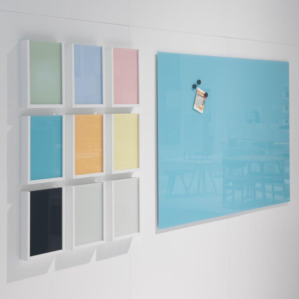 Stilfuld og elegant glastavle til organisering og kreativitet
