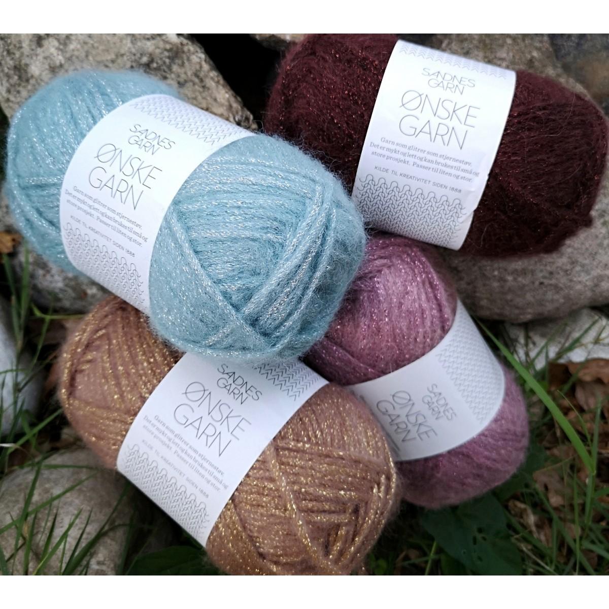 Find garn og opskrift til dit næste strikkeprojekt hos uldfisken.dk